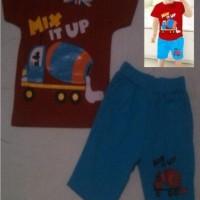 Baju Anak Laki Setelan London Kids Mix Up