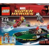 LEGO Super Heroes 76006 Iron Man Extremis Sea Port Battle