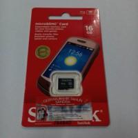 Memory card Microsd SanDisk 16Gb class 4