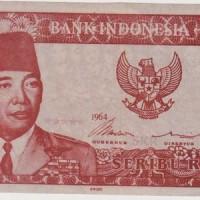 Uang Kuno sukarno Rp.1.000 ini bisa melengkung/ gulung sendiri