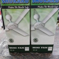 KIPAS ANGIN GANTUNG MINI FAN SHUKAKU SKU MF50
