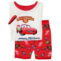 Setelan Pakaian Anak Laki-Laki The Cars Lighting McQueen