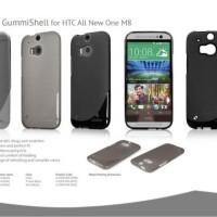 Ahha Moya GummiShell Case HTC One M8