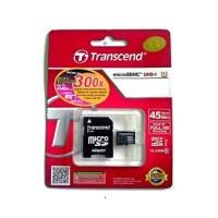 Transcend 16GB Micro-SDHC (UHS-1 300X, SD Adapter)