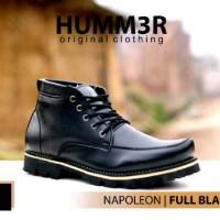 Sepatu Boot Humm3r Black Original 3 Model
