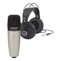 Samson C01 + SR850 Bundle - Microphone + Headphone Recording