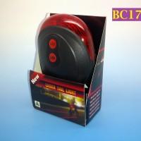 BC177 - Lampu Laser Belakang Sepeda Tahan Air