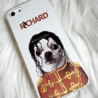 hard case iphone 5 5s custom micael jackson personalized dengan nama