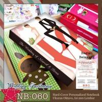 NB-060 Notebook Wedding Invitation
