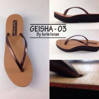 geisha isrin isran (brown)