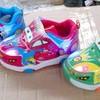sepatu lampu nyala anak bayi baby MCqueen light shoes CARS mc queen