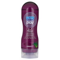 Durex Play Massage 2in1 lubricant Pelumas Berbentuk Gel kemasan 200ml