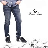 celana pria / Jeans Blue Washed
