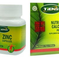Paket Peninggi Badan (Kalsium Powder + Zinc)