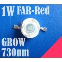 1W High Power Led 730nm GROW FAR-RED IR Emitter Taiwan EpiSTAR NO.PCB