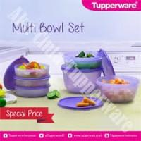 Multi bowl Set Tupperware