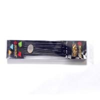 JARI-JARI BLACK,GOLD SCT UK.9 X 172