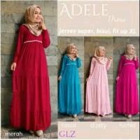 Adele maxi jersy+pasmina fit to XL busui friendly