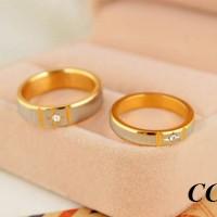 CINCIN COUPLE - Gold Shuriken Ring