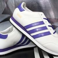 sepatu olahraga adidas LA trainer wanita