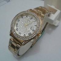 Jam Tangan Rolex Daytona-1992 Date Ring Diamon Kw Super Gold