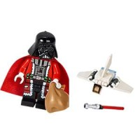 Lego Original Minifigure Darth Vader Santa Star Wars