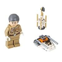 Lego Original Minifigure General Rieekan Star Wars