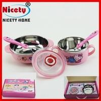 Lunch Box Hello Kitty + Sendok Garpu