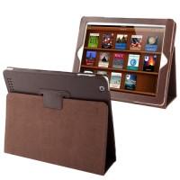 Leather Case Ipad Brown ( iPad 2, new iPad, iPad 4 )