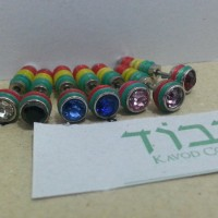 anting barbel (fake expander) rainbow