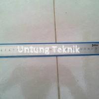 Penggaris Stainless steel 30cm