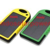 Jual Solar power bank 5000 mAh waterproof anti air anti debu anti banting Murah