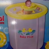 Kolam Spa Bayi Baby Flow 90 x 90 cm