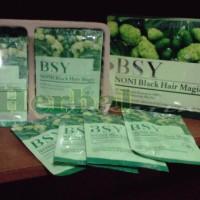 BSY NONI Shampoo Herbal Penghitam Rambut / Anti Uban