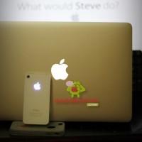Glowing Apple Logo iPhone Case, Logo Apple iPhone nyala sperti Macbook