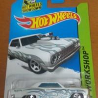 Hotwheels Hot Wheels 64 Chevy Chevelle SS White