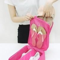 Jual Shoes Pouch Tas Sepatu Fitness Baju Sandal Handuk Olahraga Koper Kopor Murah