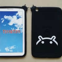 """Silicon Tab 3 8"""" T311/T3110 SoftRubber Quality Case For Samsung"""