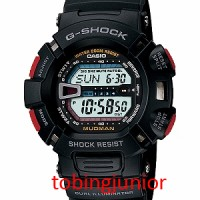 Jam Tangan Casio Original 100% G-Shock G-9000-1V MUDMAN BLACK / HITAM