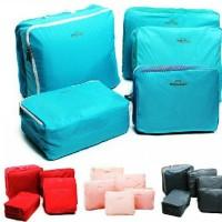 Travel Organizer Bag set 5 in 1 - BLUE MINT