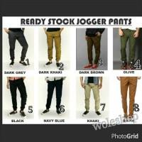 Celana Joger Pants (pinggang full karet tanpa resleting)