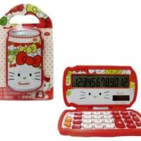 KK14 Kalkulator kaleng Hello Kitty