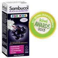 Sambucol Black Elderberry for Kids (USA) 2 Years and Older - 120ml