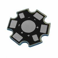 Heat Sink LED 1W 3W 5W Aluminium star Plat Base PCB Pendingin