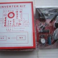 Inverter MOBIL 12V DC to 18V CT 18V DC Step Up converter tegangan dc