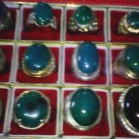 cincin batu bacan doko jumbo hijau gelap bagus rawatan
