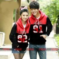 Hoodie Couple / Baju Pasangan  / Sweater Angka 9497