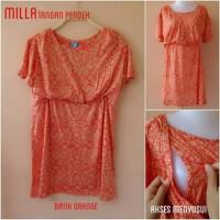 Baju Hamil & Menyusui (Millaa tg pdk batik orange)
