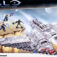 Halo Mega Bloks UNSC Shortsword Bomber Lego Block - Pabrikan/Buatan :