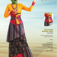 DRESS TUNEECA ogoh-ogoh papatai T-0215028